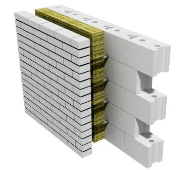 стена из строительных блоков