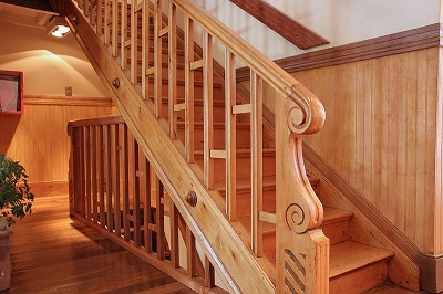 лестница из дерева 1