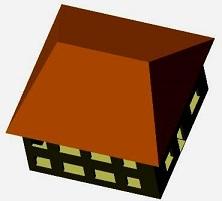 четырехскаоьтная крыша