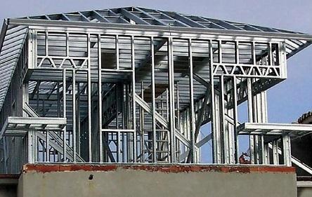 металлокаркасный дом